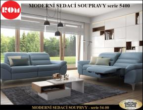 ROM-Moderní design kůže-látka 54-00