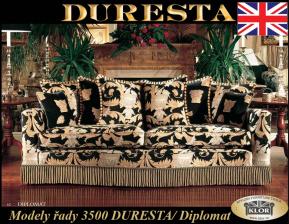 Duresta-3500 High Class of England.Určité modely vystaveny v Č.Budějovicích.