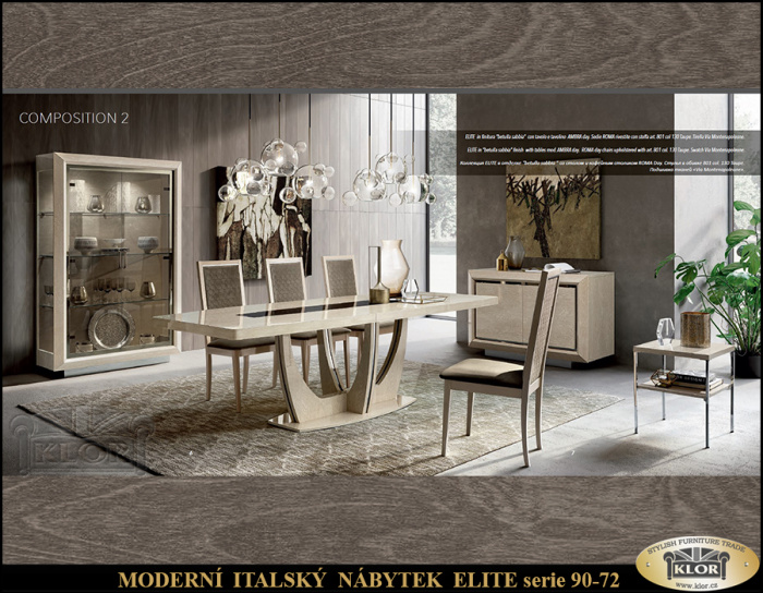 ELITE SERIE 9000 Italský nábytek
