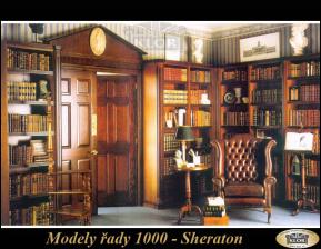 Sheraton-řada 1000 Interiéry