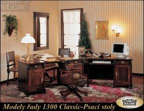 Modely řady 1300 CLASSIC Psací stoly