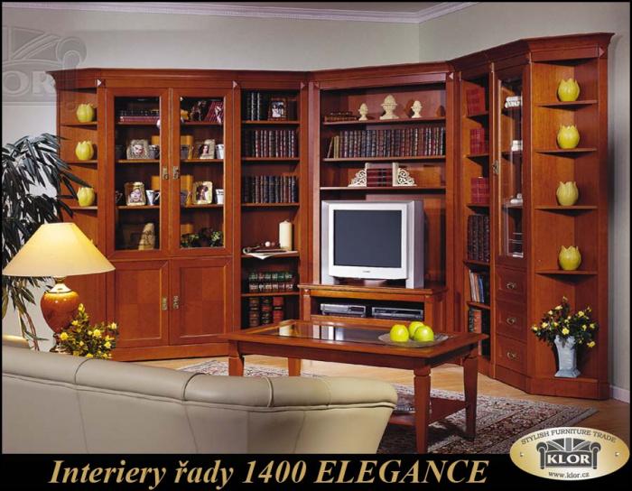 Modely řady 1400 ELEGANCE Moderní stylový nábytek