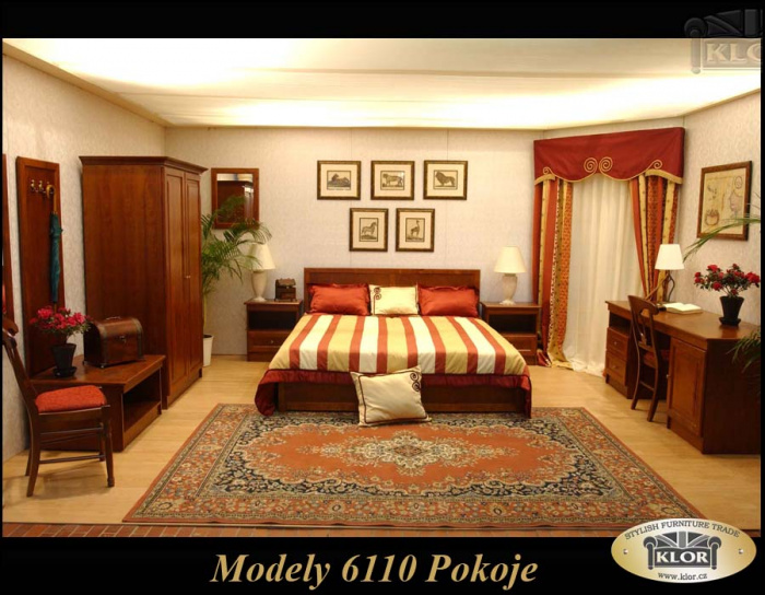 Modely řady 6100 Hotelové pokoje