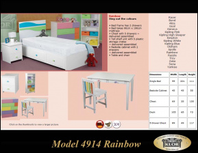 Model řady 4914 Rainbow