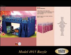Model řady 4915 RAZZLE