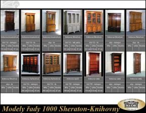 Modely řady 1000 SHERATON-Knihovny