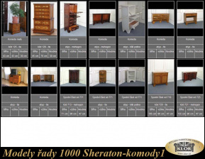 Modely řady 1000 SHERATON-Komody-1