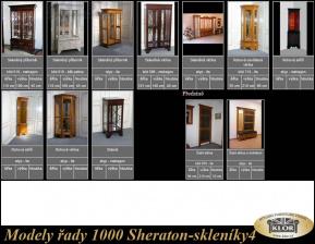 Modely řady 1000 SHERATON-skleníky