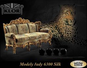Modely řady 6300 SILIK  Design Louis XVI-Sedací soupravy