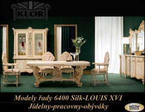 Modely řady 6400 SILIK  Design Louis XVI-Jídelny