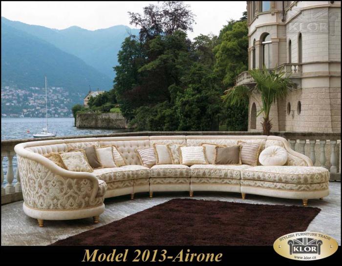 Model řady 2000 PIGOLIO Model AIRONE HP