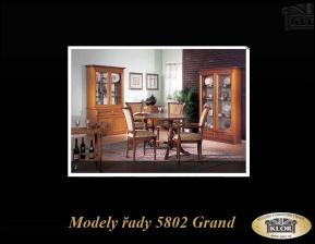 Grand - řada 5802 levnější řada stylového nábytku