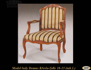DOMUS 1815 Křesla-židle