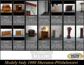 Modelý řady 1000 SHERATON  příslušenství