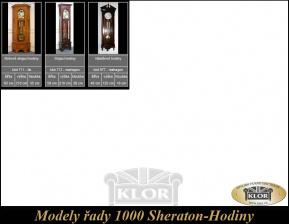 Modely řady 1000 SHERATON  hodiny