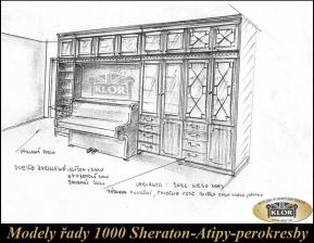 Modely řady 1000 SHERATON   Atypi-Perokresby