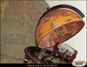 Globusy - řada  9100 - Made in Italy Všeobecné INFO