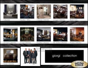 9300 GIORGI Celkový přehled kolekcí