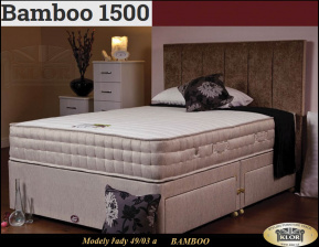 BAMBOO - 4903 DREAMS Anglické postele - Made in England