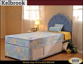 KELBROOK - 4913 DREAMS  Anglické postele - Made in England