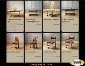 Jídelní stoly a židle 0017-04