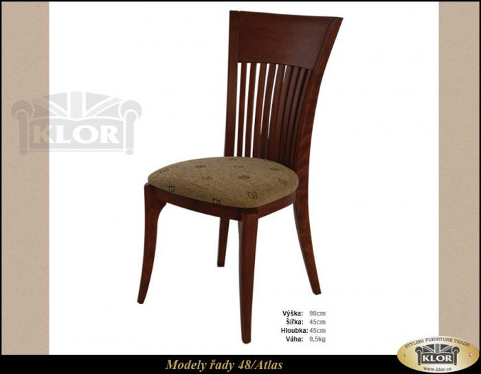 Levný stylový nábytek z masivu-ŽIDLE řada 4800