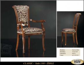 Modely řady CLASICC 1380 Židle